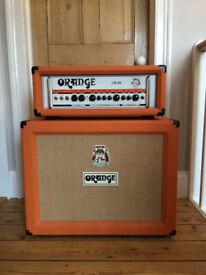 Orange Guitar Amp Head and Cabinet