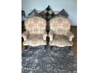 Pair of used arm chairs