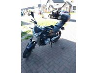 Lexmoto ZSX, 2015 model, low price low mileage, one previous owner.