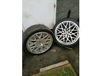 Vw 18 inch 5x100 alloys