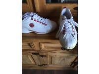 Men's RETRO Converse this trainers size 8