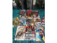 Collection of DC batman and justice league comics and comic books