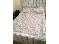 Chesterfield style bed frame