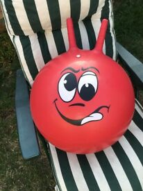 Red Space Hopper