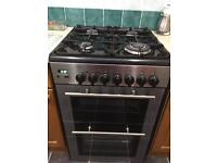 Kenwood gas cooker with grill and double oven
