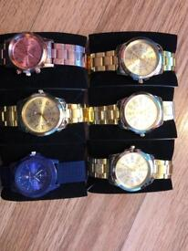 6 top quality men's watches 5 with boxes brand new