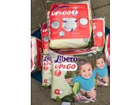 Libero up and go nappy / nappies / diapers pull up pants size 7
