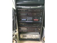 Stereo stack system JVC and pioneer