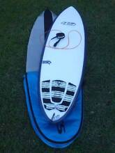 "Hypto Krypto 6'2"" FF Custom, FCS Cover, Shapers Fins, Pad & Leash Woodbine Campbelltown Area Preview"
