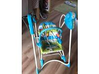 Fisher price baby to toddler swing seat