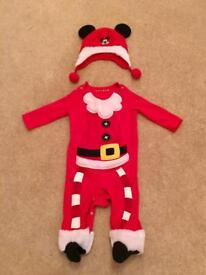 Christmas 6/9 month outfit