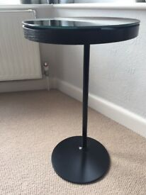 Great condition black glass table