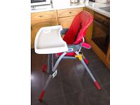 Chicco High Chair with tray