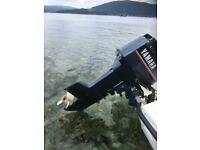 Used, Yamaha 30hp 2 stroke outboard for sale  Thornliebank, Glasgow