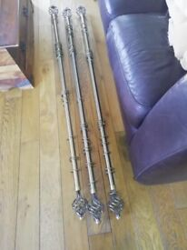 curtains and curtain poles for sale