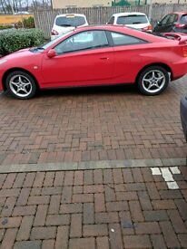 Red Toyota Celica for sale