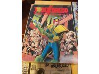 Judge Dredd board game 1982. Rare original edition. decent condition.