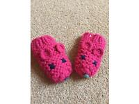 Joules mouse mittens 0-6m