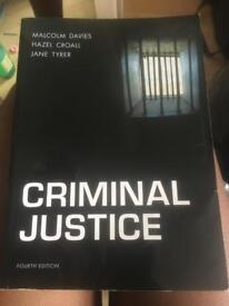 Crimson Justice by Malcolm Davies, Hazel Croall, Jane Tyrer