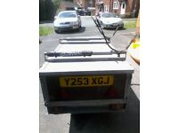 NOVA 5' X 3' HIGH QUALITY GALVANISED TRAILER WITH LOCKABLE LID FOR SALE