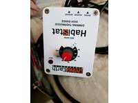 Habistat high range dimming thermostat with spare fuses