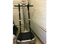 Power Plate vibrating machine. Pre owned. Excellent condition