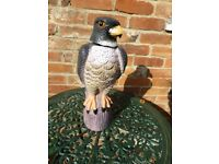 Bird Scarer Large plastic Falcon with Swivel Head