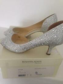 Benjamin Adams diamanté size 3 shoes