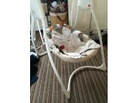 Graco baby swings x2, working perfectly, will sell separate, used condition