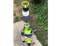 4in1 smart trike baby's r us used once