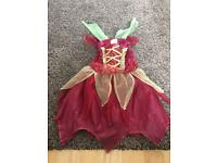 Tinker bell fancy dress outfit