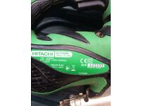 Hardly used 110v Hitachi jigsaw and carry case