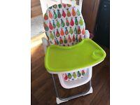 Mamas and Papas Pesto Pear Highchair