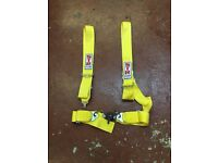 STR 4 Point FIA Approved Harnesses - Pair