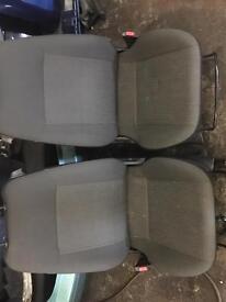 Corsa C drivers seat and passenger seat