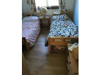Two IKEA children's bed.