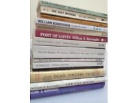 William Burroughs books: £10 for 14 (3 hardback, 11 paperback)