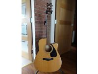 Yamaha FGX-412C Electro-Acoustic Guitar (made in late 1990s)