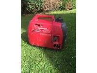Honda suitcase generator, great condition, not used much £495 Ono (£1500 new)