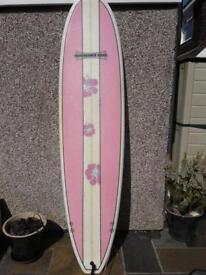 7ft 3 Mini Mal surf board
