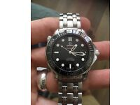 Mint condition Omega Seamaster men's watch