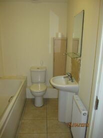 Studio, Own Front Door, separate sleeping area, living area, kitchen, bath & shower. Unfurnish£625pm