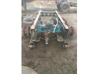 Mercedes atego 1823 rear axle