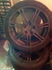 Type R alloy wheels