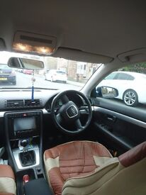 AUDI A4 SLINE 140 bhp well looked after verry good looking car troughout cd/dvd player,usb,bt