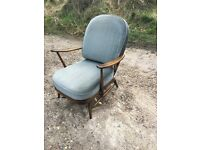 Vintage Ercol Windsor Armchair (needs new webbing)