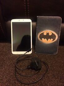 SAMSUNG GALAXY TAB3 TABLET WHITE 16GB PERFECT CONDITION + CHARGER