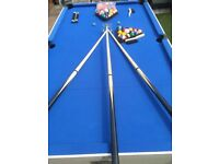 Debut 6ft Snooker/Pool Table with Cues & Balls