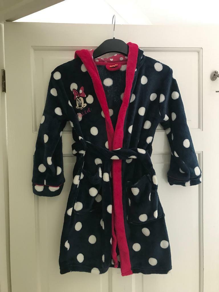 Girls Minnie Mouse dressing gown | in Southsea, Hampshire | Gumtree