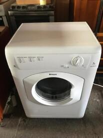 Fantastic 7kg hotpoint tumble dryer 3 month guarantee can deliver